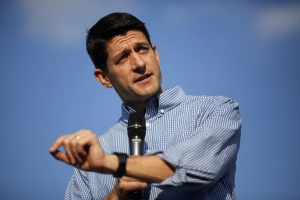 Paul Ryan speaks at Miami University in Oxford, Ohio August 15, 2012. REUTERS/Aaron Bernstein