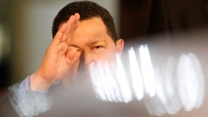 Venezuela President Hugo Chavez became famous for his many moods. Here, Reuters photographers Jorge Silva and Carlos Garcia Rawlins, and video journalist Sebastian Rocandio, offer exclusive images and recollections of Chavez over the years. Produced by Jillian Kitchener.