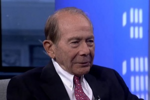 Former AIG CEO Maurice ''Hank'' Greenberg is seen in a video screengrab.  REUTERS TV