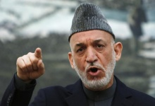 Afghan President Hamid Karzai speaks during a news conference in Kabul May 4, 2013. REUTERS/Mohammad Ismail