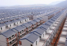 A general view of newly built houses at Dadun village of Lingshui ethnic Li Autonomous County, Hainan province, January 18, 2013. REUTERS/Stringer