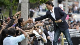 Actor Irfan Khan arrives on the green carpet prior to the the International Indian Film Academy (IIFA) Awards in Toronto June 25, 2011. REUTERS/Mike Cassese/Files