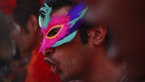 Participants attend Queer Azaadi (freedom) parade, an event promoting gay, lesbian, bisexual and transgender rights in Mumbai January 28, 2012. REUTERS/Danish Siddiqui/Files