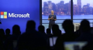 Microsoft CEO Satya Nadella speaks during his keynote address in San Francisco, California April 2, 2014. REUTERS/Robert Galbraith