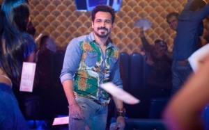 "Actor Emraan Hashmi is seen in a handout from the film ""Raja Natwarlal"""