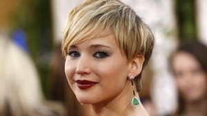 Actress Jennifer Lawrence arrives at the 71st annual Golden Globe Awards in Beverly Hills, California January 12, 2014.  REUTERS/Mario Anzuoni/Files