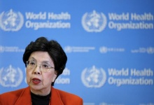 World Health Organization (WHO) Director-General Margaret Chan holds a news conference after the first meeting of the International Health Regulations (IHR) Emergency Committee concerning the Zika virus and observed increase in neurological disorders and neonatal malformations in Geneva, Switzerland, February 1, 2016. REUTERS/Pierre Albouy
