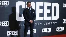 Actor Sylvester Stallone arrives at the European Premiere of 'Creed' in central London, January 12, 2016. REUTERS/Eddie Keogh
