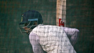 Virat Kohli bats in the nets during a practice session ahead of their fourth and final test cricket match against South Africa, in New Delhi, December 2, 2015. REUTERS/Anindito Mukherjee/Files