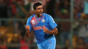 Cricket - India v Bangladesh - World Twenty20 cricket tournament - Bengaluru, 23/03/2016. Ravichandran Ashwin celebrates taking the wicket of Bangladesh's Mohammad Mithun.  REUTERS/Danish Siddiqui/Files