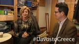 Arianna Huffington wants Davos moved to Greece -- Felix TV