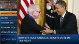 U.S. Morning Call: Buffett Rule fails U.S. Senate vote