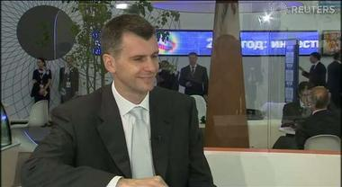 "Mikhail Prokhorov: ""I am the alternative"" - Fast Forward"