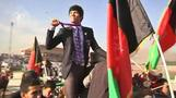 Afghan medallist gets hero's welcome