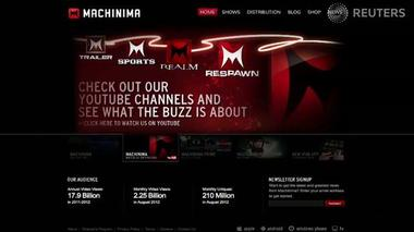 Machinima: A model for the future of web video - Tech Tonic