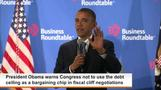 Obama to GOP: Don't even think about holding up the debt ceiling