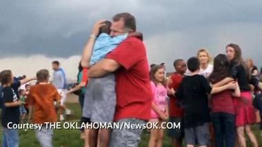 Students scream moments after tornado's devastation