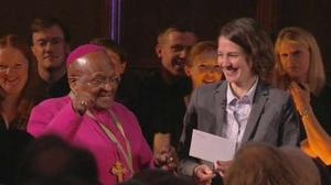 Tutu scoops Templeton Prize