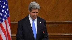 Kerry warns Syria's Assad against rejecting political solution