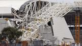 Accident at Brazil World Cup stadium stirs anxiety