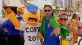 "Environmentalists shine World Cup spotlight on ""vulnerable"" mascot"