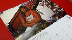 Woman graces FDNY calendar for first time