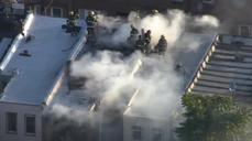 Firefighters suspect arson in Philadelphia rowhouse fire