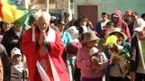 Bolivian priest blesses beloved pups