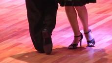 Tango dancers put best feet forward