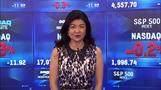 NY株小幅安、米指標改善で下げ限定的(28日)