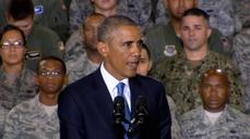 Obama says U.S. will not fight another ground war in Iraq