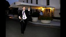 White House evacuated amid reports of an intrud