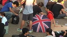 New day of protest dawns in Hong Kong