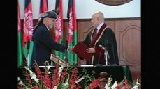 Afghanistan swears-in new leader amid ongoing violence