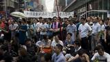 Hong Kong protesters prepare for