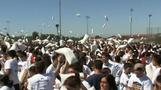 Pillow fight record smashed