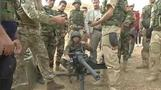 British troops train Kurdish fighters