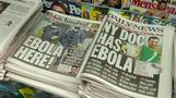 NYC Ebola patient awake and talking with relatives