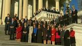 Newly-elected House members gather for photo op