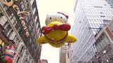 Thousands brace the cold for Macy's holiday parade