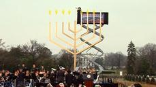 Biden lights the National Menorah to mark the start of Hanukkah
