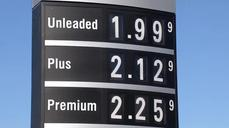 Gas prices dip to under $2 a gallon