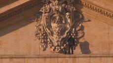 Italian protester climbs Vatican basilica again
