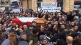 Mourners bid farewell to Lebanon's ex-PM Karami