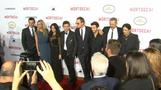 "Hollywood rolls out red carpet for Johnny Depp's ""Mortdecai"""