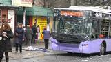Eight killed in Donetsk bus attack (graphic images)