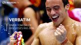 Diver Daley trains in Rio
