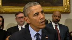 "Body cameras ""not a panacea"" - Obama"
