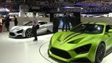 Luxury dominates Geneva car show