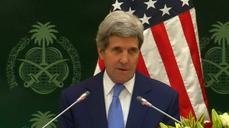 Kerry tries to reassure Iran's Gulf rivals on nuclear talks